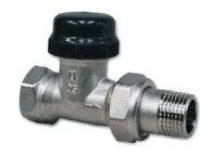 """IVAR - termostatický dvouregulační ventil přímý IVAR.VD 2101 N - 1/2"""""""