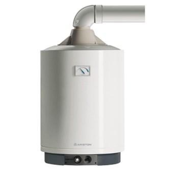 nástěnný plynový zásobníkový ohřívač ARISTON 80 V FB - falešné turbo