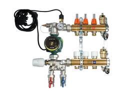IVAR.UNIMIX -6- univerzální sestava pro podl.topení, vč. skříně na omítku (557674UN)