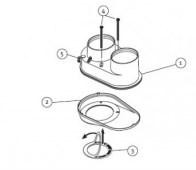 odkouření Protherm rozdvojovací člen 80/80 mm (R1) - plyn. TURBO kotle