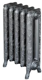 VIADRUS litinový RETRO radiátor WINDSOR 500/177 bez nohy - RAL 9007