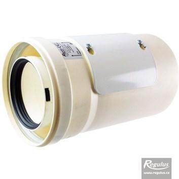 odkouření Regulus - vsuvka s kontrolním otvorem, 80/125 PP/PP - 0,31 m