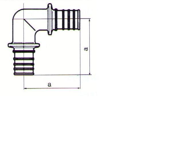 koleno 90° REHAU RAUTHERM S 32 mm