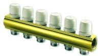 """IVAR - rozdělovač s uzavíracími ventily IVAR.CS 553  -6- 5/4""""xEK"""