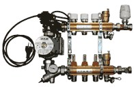 "IVAR.CI 557 KS DUAL -10- sestava rozdělovač / sběrač 3/4""xEK (557678KS)"