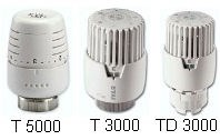 IVAR - termostatická kapalinová hlavice IVAR.T 3000 CS - chrom-mat