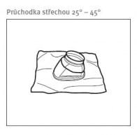 odkouření Protherm průchodka střechou 25°-45° (PS4) (0020258678)