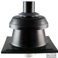 odkouření kondenzační Regulus - komínová hlavice s krycí deskou na komín (35*35 cm)