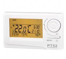 Drátový termostat PT 52 s OT komunikací