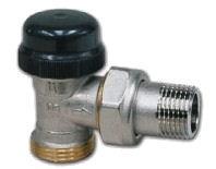 IVAR - termostatický dvouregulační ventil rohový IVAR.VS 2106 N s přednastavením