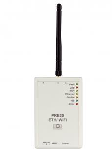 PRE30 -  Převodník RS232 na Ethernet/WiFi