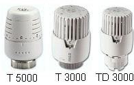 IVAR - termostatická kapalinová hlavice IVAR.T 5000