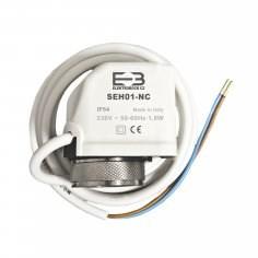 SEH01-NC termoelektrický pohon 230 V, bez proudu zavřeno NC