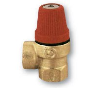 """IVAR.PV 311 - pojistný ventil  pro topení 6 bar 1/2"""" FF"""