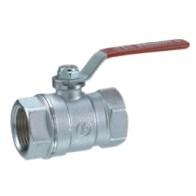 """Giacomini kulový kohout chromovaný R250D páka 1"""" - voda"""