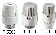 IVAR - termostatická kapalinová hlavice IVAR.TD 3000