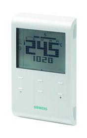 Siemens digitální prostorový termostat (RDE100.1)