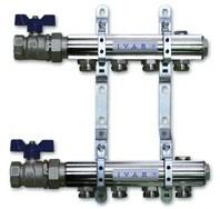 """IVAR - sestava rozdělovač / sběrač IVAR.CS 501 NS -6- 5/4""""xEK"""