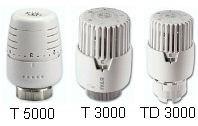 IVAR - termostatická kapalinová hlavice IVAR.T 3000 C - chrom