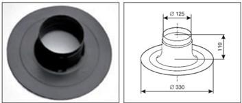 odkouření Protherm průchodka střechou rovná (PR3) (0020199443)