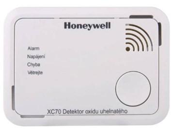Honeywell Detektor oxidu uhelnatého XC70-CSSK-A - CO Alarm