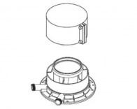 odkouření Protherm připojovací vertikální adaptér 80/125 mm (0020276091)