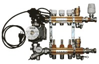 IVAR - DUAL -5- IVAR.CI 557 KS - sestava rozdělovač - sběrač