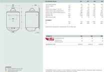 Ariston S/SGA X 50 EE plynový zásobníkový ohřívač vody (3211024)