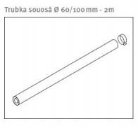odkouření Protherm trubka souosá 60/100 mm - 2 m (0020257445)