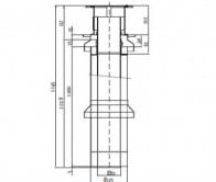 odkouření Protherm sestava komínová 80/125, (S21M)