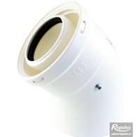 odkouření kondenzační Regulus - koleno 45° 80/125 PP/PP