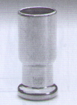 P6243 redukce 22x18 -  měděná press tvarovka - topení axi