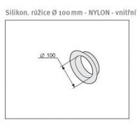 odkouření Protherm silikon.růžice 100 mm vnitřní (SR3D)