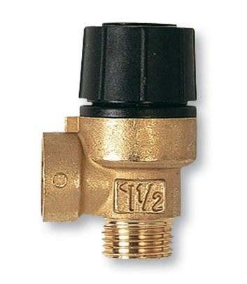 """IVAR - pojistný ventil pro topení - IVAR.PV 1234 - 6 bar 1/2"""" MF (I00206060)"""