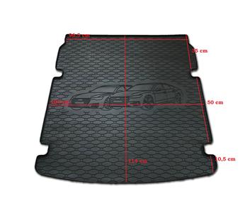 Gumové vany do kufru Audi A7 10/2017-