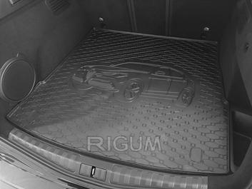 Gumové vany do kufru Alfa Romeo Stelvio 12/2016-