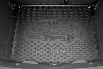 Gumové vany do kufru Fiat 500X 09/2014-