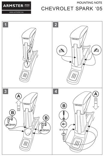 Loketní opěrky do auta Armster od výrobce RATI
