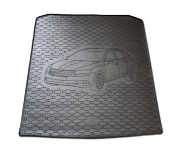 Gumové vany do kufru Škoda Superb III 03/2015-