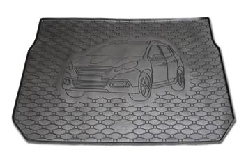 Gumové vany do kufru Peugeot 2008 03/2013-