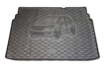 Gumové vany do kufru Opel Crossland X 03/2017-