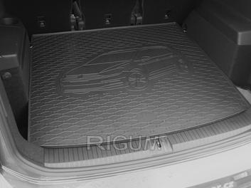 Gumové vany do kufru Volkswagen Touran