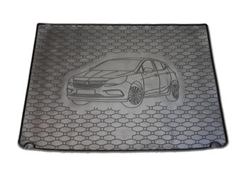 Gumové vany do kufru Opel Astra 06/2015-