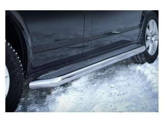 Boční nerez rámy, nášlapy a stupátka na auta