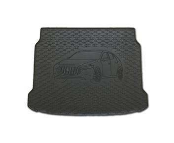 Gumové vany do kufru Mazda 3