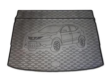 Gumové vany do kufru Nissan Qashqai 11/2013-