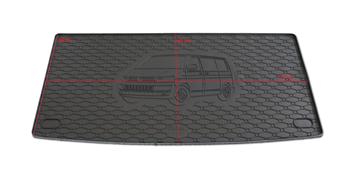 Gumové vany do kufru Volkswagen T6