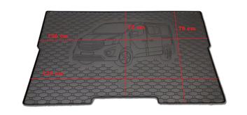 Gumové vany do kufru Renault Trafic 05/2014-