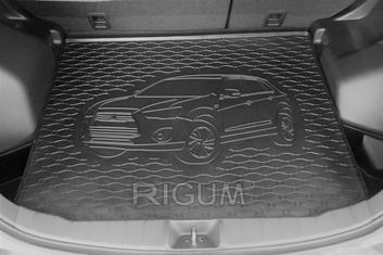 Gumové vany do kufru Mitsubishi ASX 01/2010-
