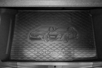 Gumové vany do kufru Opel Corsa-e 02/2020-